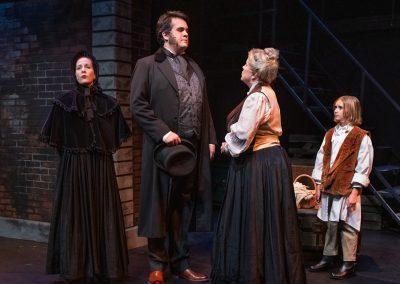 David Copperfield, The New Musical. Photo: Steve DiBartolomeo.