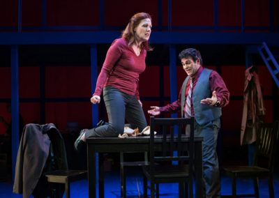 Jewel Theatre's 2016 production of Next to Normal. Photo: Steve DiBartolomeo